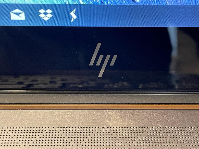 HP ENVY x360 13 ロゴ