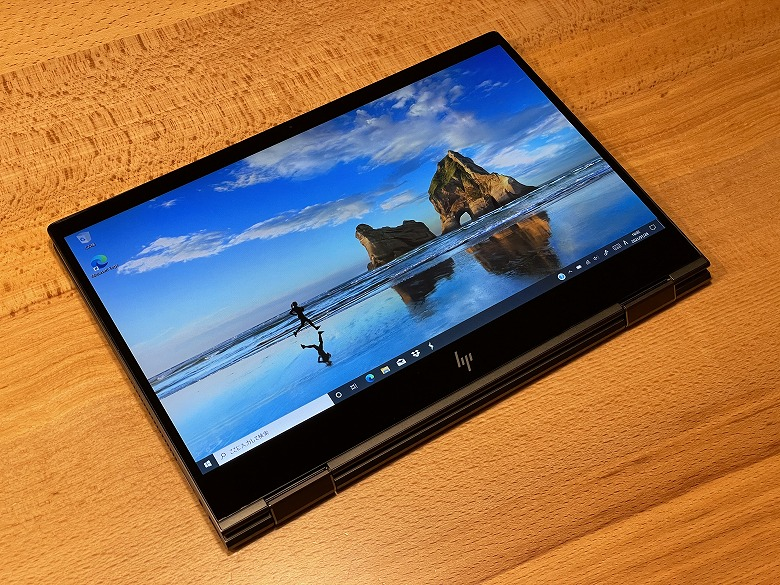 HP ENVY x360 13 タブレットモード