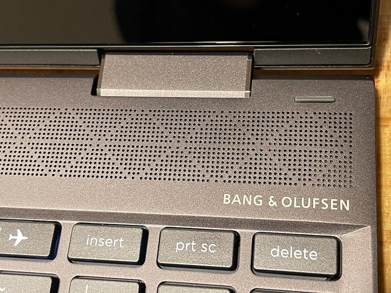 HP ENVY x360 13 スピーカー