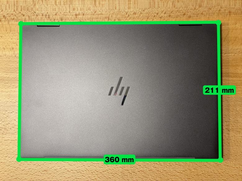 HP ENVY x360 13 サイズ
