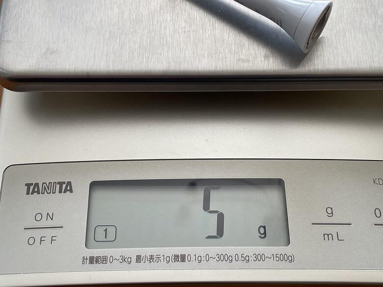 Philips ソニッケアー プロテクトクリーン ブラシヘッド重さ
