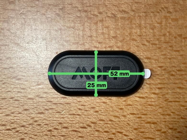 MOFT Magnetic Sticker サイズ
