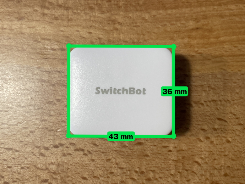 SwitchBotボット サイズ