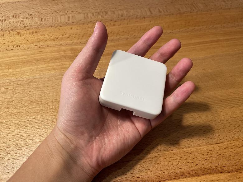 SwitchBotハブミニ 手のひらサイズ