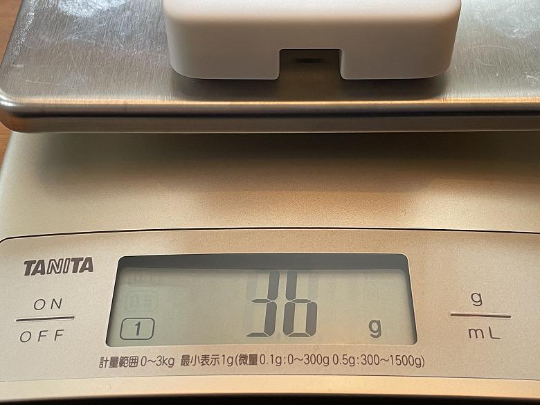 SwitchBotハブミニ 重さ