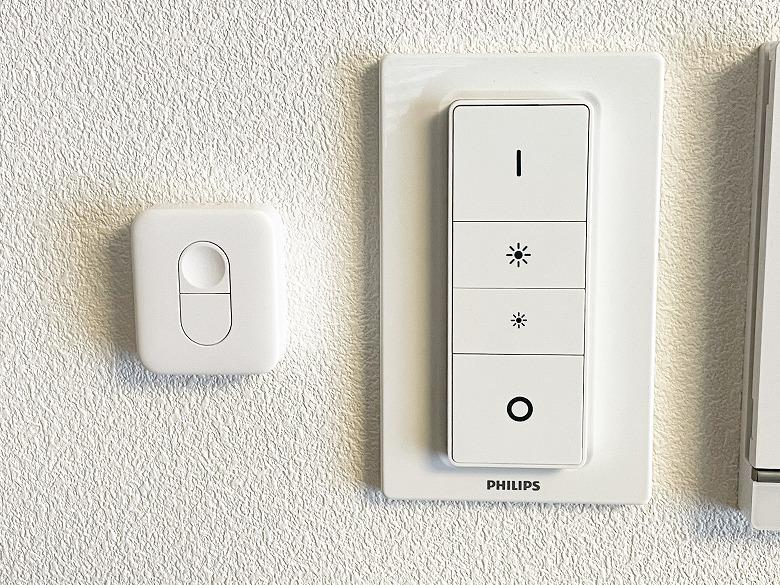 SwitchBotリモートボタン 壁に貼り付け