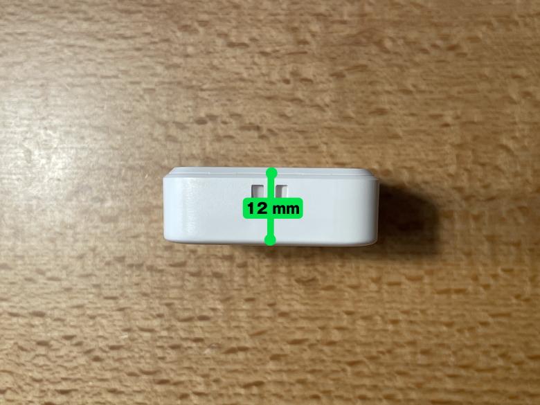 SwitchBotリモートボタン 厚さ