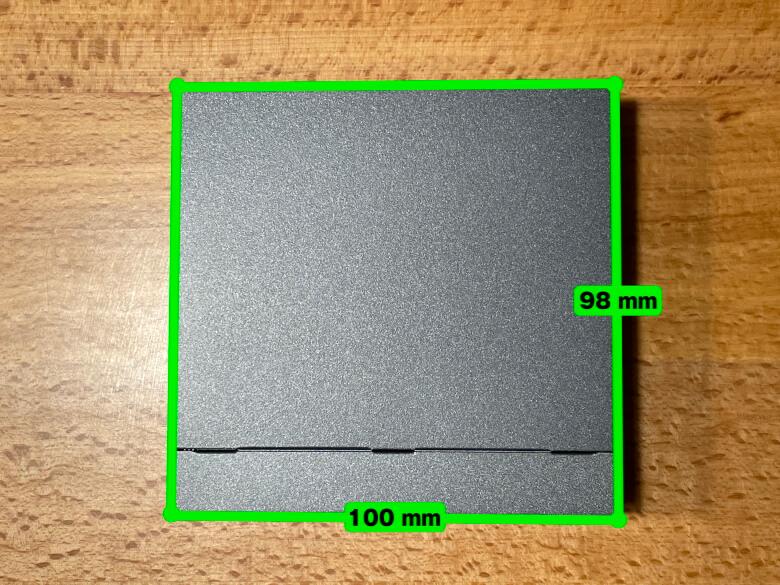 TP-Link TL-SG1005LP サイズ