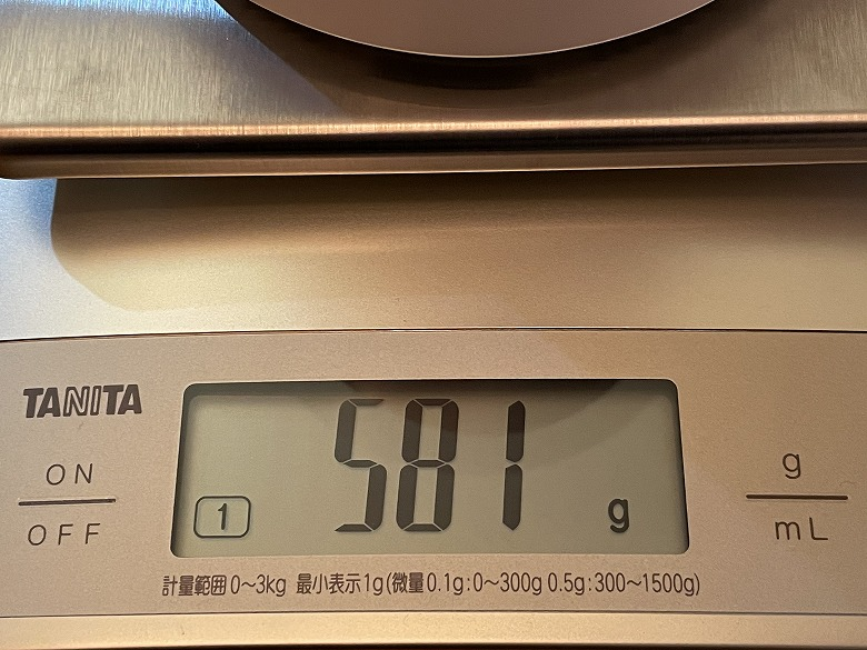 Deco X60 重さ