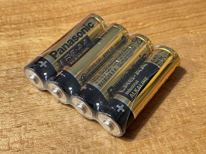 スマートマットライト 単三電池