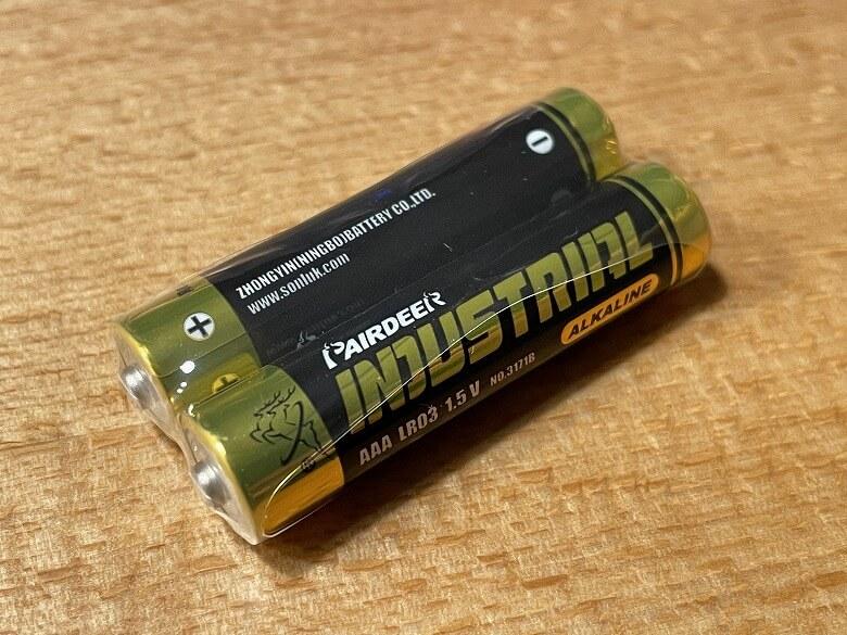 SwitchBot温湿度計 単4電池