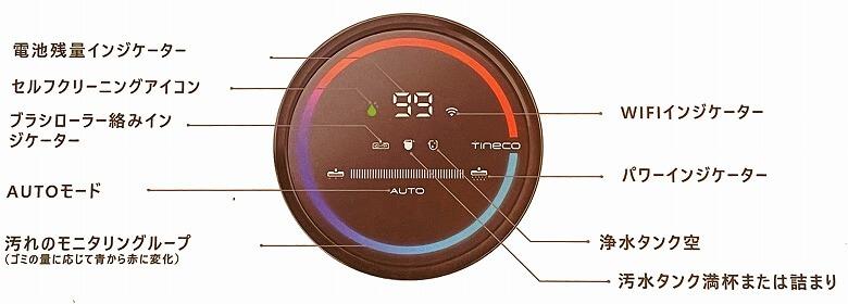 育児に役立つ家電・ガジェット Tineco FLOOR ONE S3 ディスプレイ