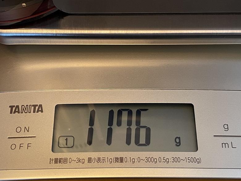 shunzao L1 本体重さ