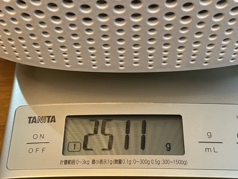 TaoTronics TT-AP005 重さ