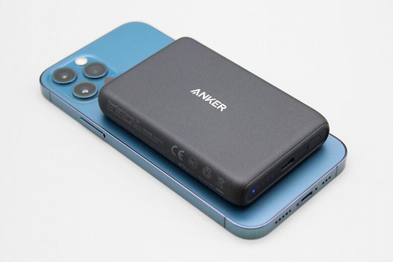 iPhoneと相性の良いおすすめのアクセサリー・周辺機器 Anker PowerCore Magnetic 5000
