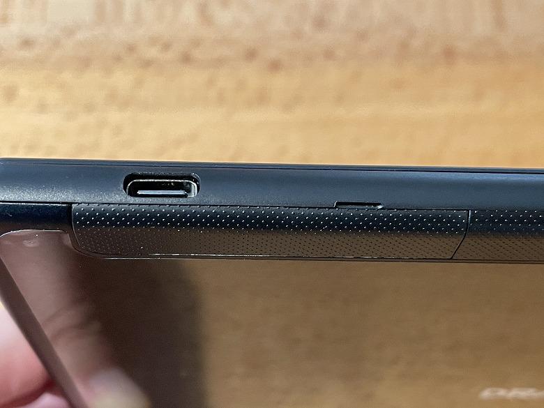 Dragon Touch MAX10 PLUS USB-Cポート