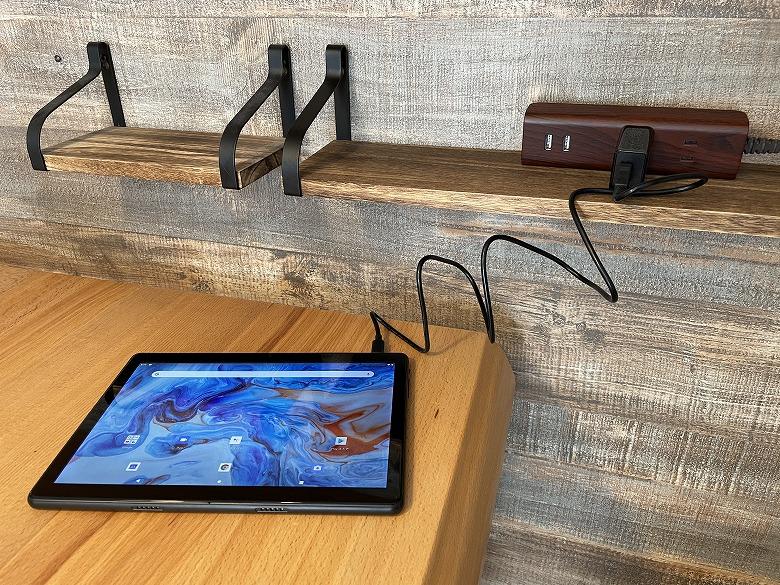 Dragon Touch MAX10 PLUS 充電