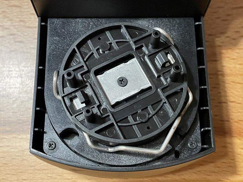 SADIOT LOCK サムターンホルダー取付位置
