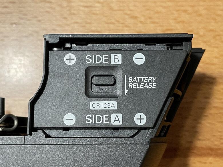 SADIOT LOCK 電池ホルダー