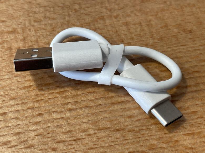 TaoTronics SoundLiberty S10 Pro USBケーブル