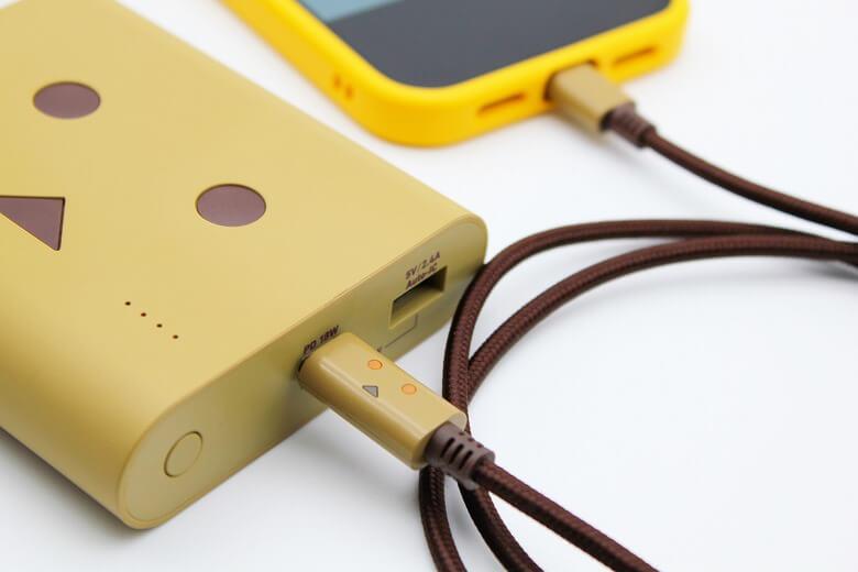 iPhoneと相性の良いおすすめのアクセサリー・周辺機器 cheero DANBOARD USB-C Cable with Lightning