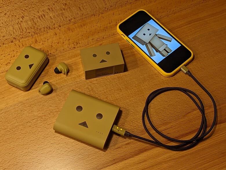 cheero DANBOARD USB-C Cable with Lightning ダンボーコレクション