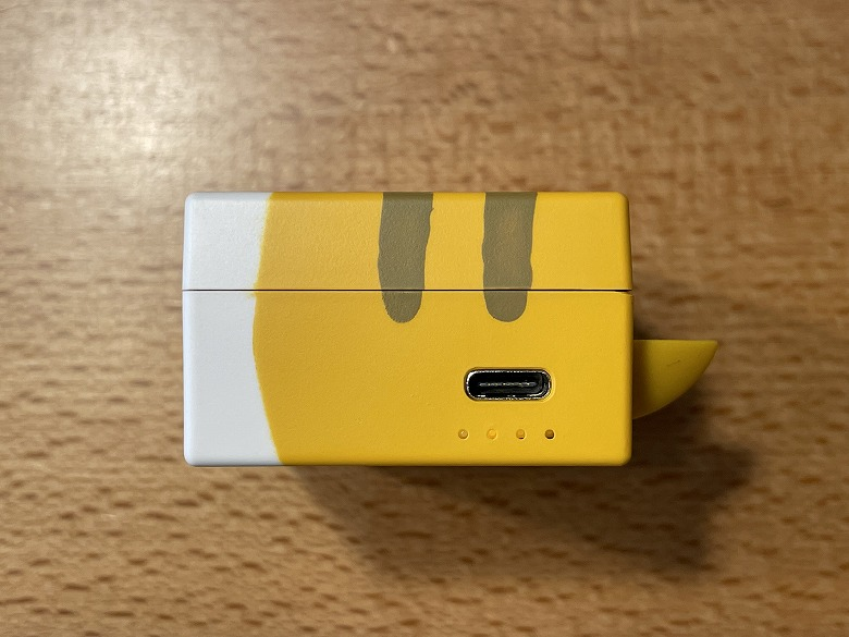 cheero nyanboard Wireless Earphones Bluetooth 5.2 USB Type-Cポート