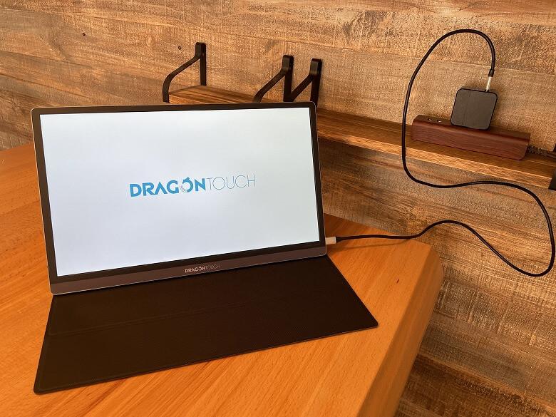 Dragon Touch S1 Pro 電源接続