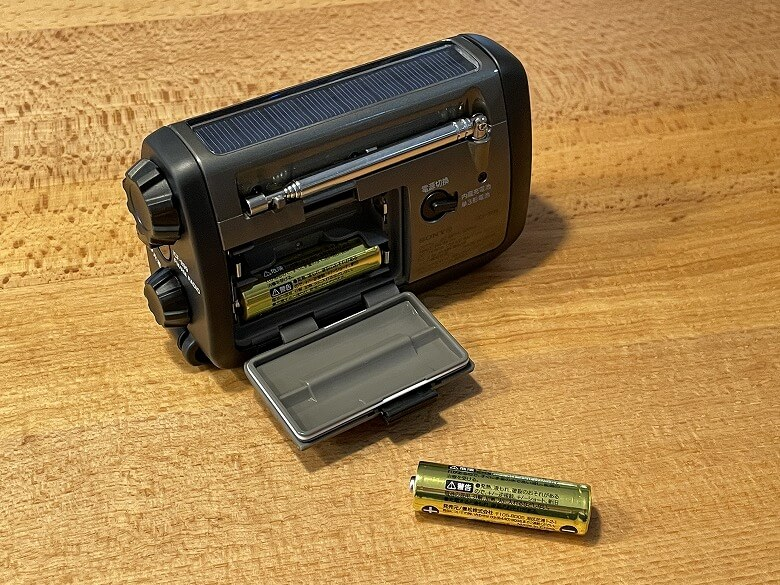 SONY ICF-B99 単3形電池