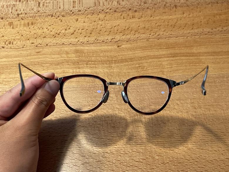 金子眼鏡 KJ-25 内側