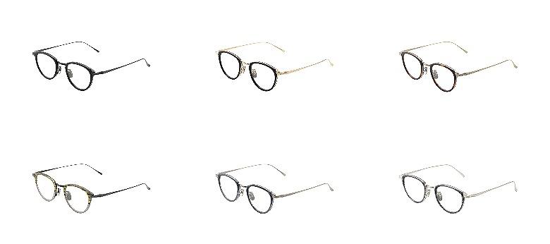 金子眼鏡 KJ-25 カラーバリエーション