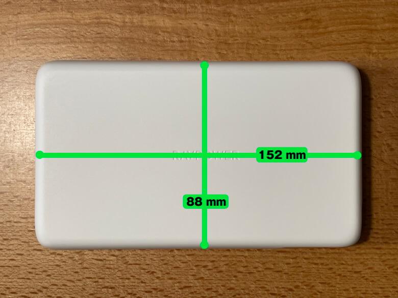 RAVPower RP-PB232 サイズ