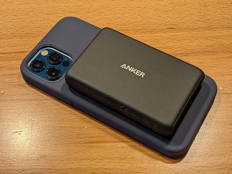 Anker Magnetic Silicone Case モバイルバッテリー