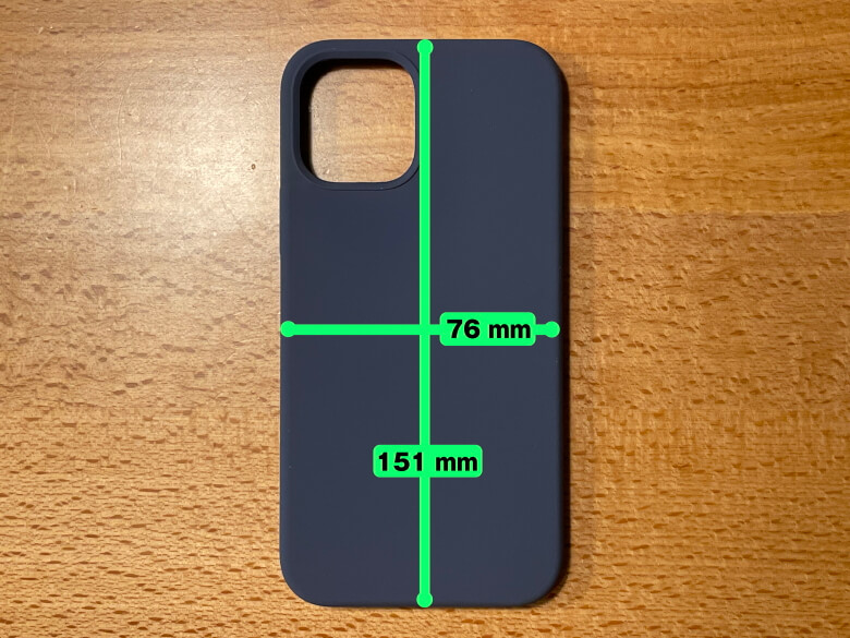 Anker Magnetic Silicone Case サイズ
