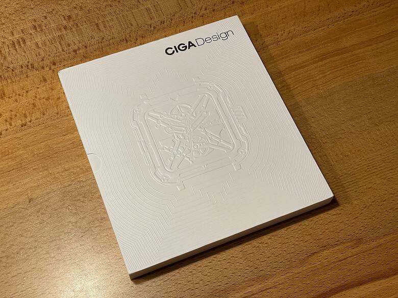 CIGA X 外箱