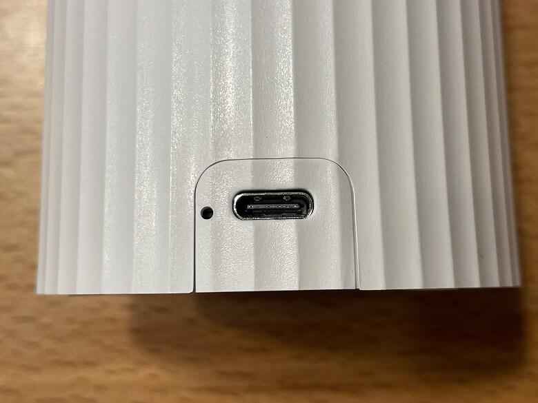 Capture Genie USB-Cポート