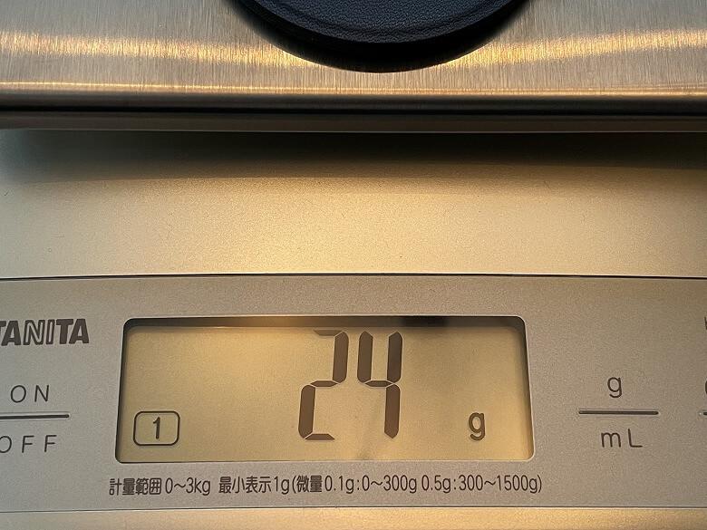 MOFT O 重さ