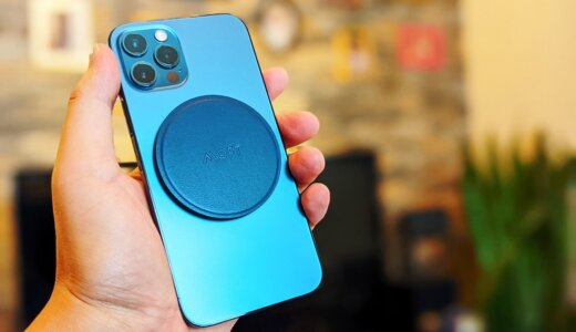 【MOFT O レビュー】iPhone 12シリーズMagSafeに対応しマグシールを貼れば他のスマホでも使えるスマホスタンド&グリップ
