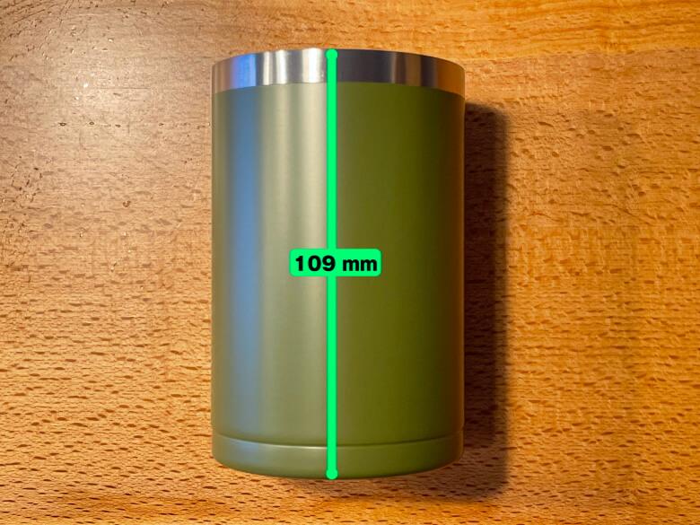 フォルテック 缶クールキーパー 高さ