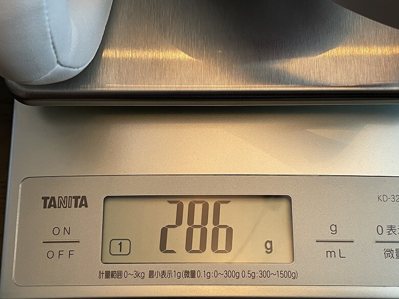 OneOdio SuperEQ S1 重さ