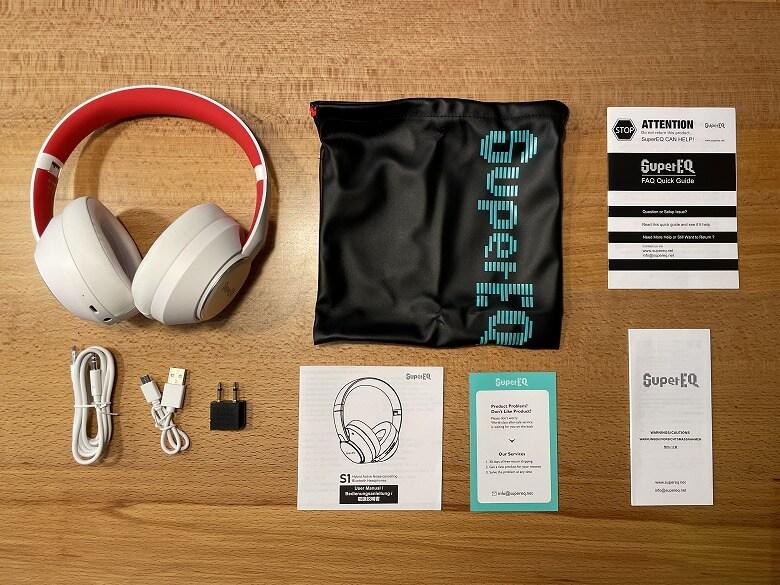 OneOdio SuperEQ S1 同梱物