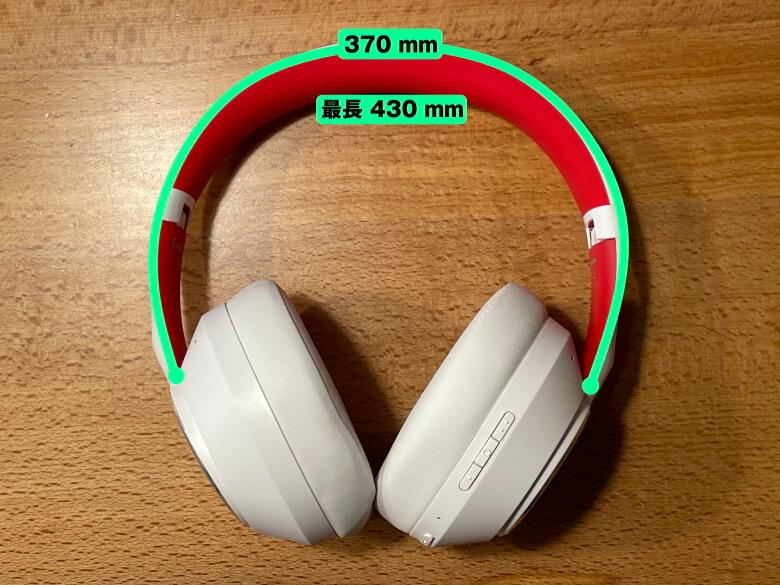OneOdio SuperEQ S1 サイズ