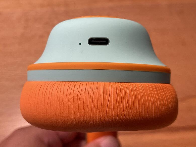 OneOdio SuperEQ S2 USB Type-Cポート