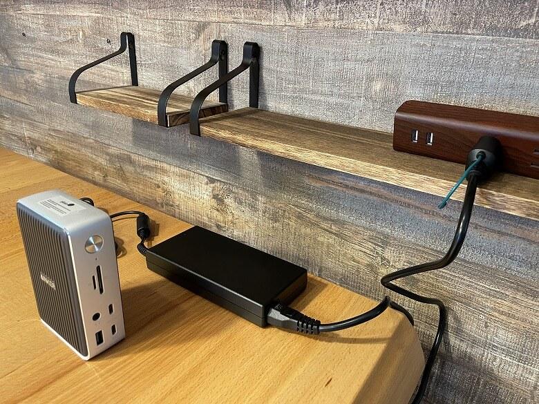 Anker PowerExpand Elite 13-in-1 Thunderbolt 3 Dock ドッキングステーション 電源接続