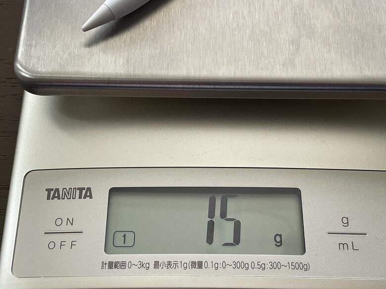 Abida S08 iPadタッチペン 重さ