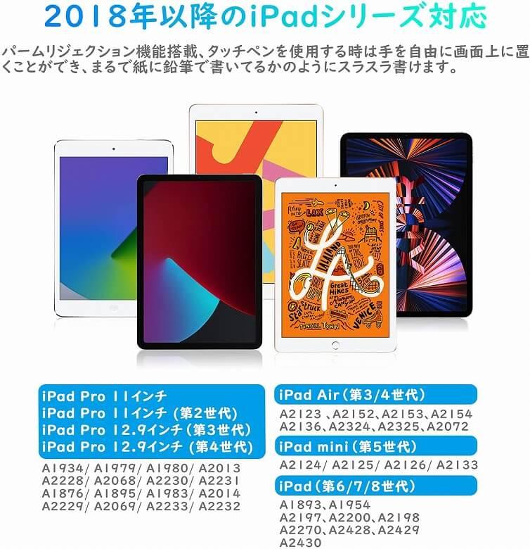 Abida S08 iPadタッチペン 対応シリーズ