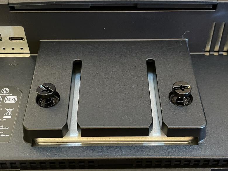 BenQ EW3280U スタンド端子