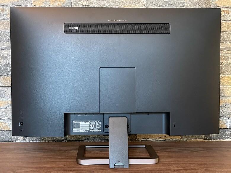 BenQ EW3280U 背面
