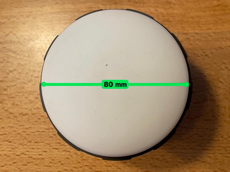 MOSKEE yuragi ライト部直径
