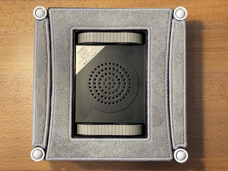 Liectroux WS-1080 モップ取り付け
